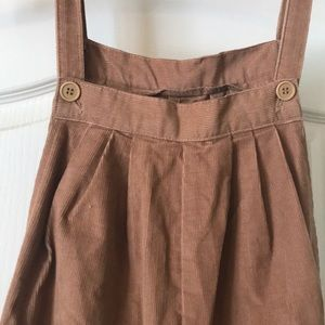 Adorable Vintage Corduroy Overalls